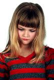 το κορίτσι απομόνωσε λίγ&omic Στοκ Φωτογραφίες