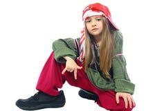 το κορίτσι απομόνωσε λίγ&alph Στοκ Εικόνες