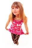 το κορίτσι απομόνωσε το &lambd Στοκ Εικόνα