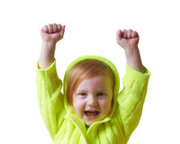 το κορίτσι απομόνωσε το &lambd Στοκ φωτογραφία με δικαίωμα ελεύθερης χρήσης