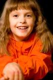 το κορίτσι γελά λίγα Στοκ Εικόνα