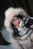 Το κορίτσι Εσκιμώος Στοκ Φωτογραφίες