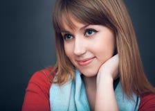 Το κορίτσι κοιτάζει Στοκ εικόνες με δικαίωμα ελεύθερης χρήσης