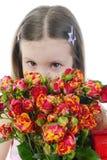 το κορίτσι λίγο αυξήθηκ&epsilo Στοκ Εικόνες