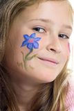 το κορίτσι λουλουδιών &pi Στοκ Εικόνα