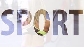 Το κορίτσι με τα σχοινιά στη γυμναστική φιλμ μικρού μήκους
