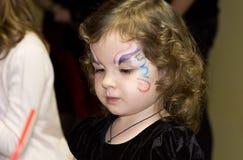 Το κορίτσι με το aqua αποτελεί στοκ φωτογραφίες με δικαίωμα ελεύθερης χρήσης