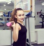το κορίτσι πηγαίνει αθλη&ta Στοκ εικόνες με δικαίωμα ελεύθερης χρήσης