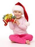 το κορίτσι Χριστουγέννων  στοκ εικόνα με δικαίωμα ελεύθερης χρήσης