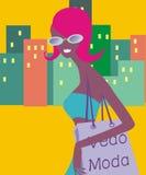Το κορίτσι χλόης Στοκ εικόνες με δικαίωμα ελεύθερης χρήσης