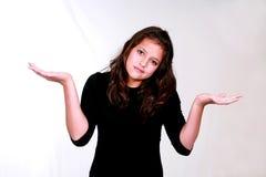 το κορίτσι brunette Στοκ φωτογραφίες με δικαίωμα ελεύθερης χρήσης
