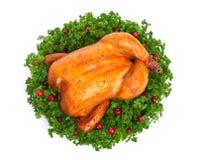 το κοτόπουλο έψησε το σύ&n Στοκ φωτογραφίες με δικαίωμα ελεύθερης χρήσης