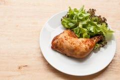 το κοτόπουλο έψησε πικάν&ta Στοκ Εικόνα