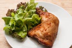 το κοτόπουλο έψησε πικάν&ta Στοκ Φωτογραφία