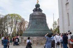 Το κουδούνι τσάρων στο Κρεμλίνο στοκ φωτογραφία