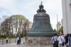 Το κουδούνι τσάρων στο Κρεμλίνο στοκ φωτογραφία με δικαίωμα ελεύθερης χρήσης