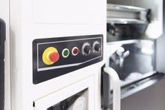 Το κουμπί έκτακτης ανάγκης ή το εξόγκωμα έκτακτης ανάγκης στοκ εικόνες με δικαίωμα ελεύθερης χρήσης