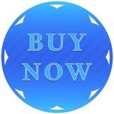 το κουμπί αγοράζει τώρα Στοκ φωτογραφία με δικαίωμα ελεύθερης χρήσης