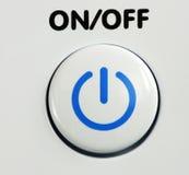 Το κουμπί ισχύος Στοκ Εικόνες