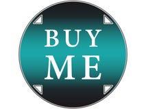 το κουμπί με αγοράζει Στοκ Φωτογραφίες