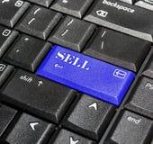 το κουμπί πωλεί Στοκ Φωτογραφία