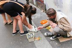 Το κουνέλι μου - αγάπη στο Παρίσι Στοκ φωτογραφίες με δικαίωμα ελεύθερης χρήσης