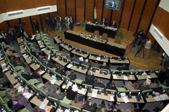 το κουρδικό Κοινοβούλ&iot Στοκ Φωτογραφίες