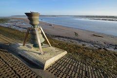 Το κουδούνι παλίρροιας και χρόνου σε Appledore, ο Βορράς Devon, UK Στοκ φωτογραφία με δικαίωμα ελεύθερης χρήσης