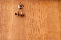 Το κουδούνι στην πόρτα Στοκ φωτογραφία με δικαίωμα ελεύθερης χρήσης