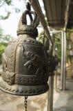 Το κουδούνι χαράσσει την έννοια μετάλλων σιδήρου ναών ελεφάντων Στοκ φωτογραφίες με δικαίωμα ελεύθερης χρήσης