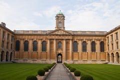 Το κολλέγιο Οξφόρδη της βασίλισσας Στοκ φωτογραφία με δικαίωμα ελεύθερης χρήσης