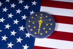 Το κράτος της Ιντιάνα στις ΗΠΑ στοκ εικόνες