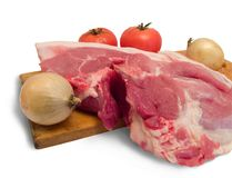 Το κρέας είναι χοιρινό κρέας στοκ εικόνα με δικαίωμα ελεύθερης χρήσης