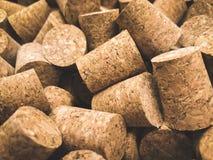 Το κρασί βουλώνει την κινηματογράφηση σε πρώτο πλάνο στοκ εικόνες