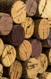 Το κρασί βουλώνει Στοκ φωτογραφία με δικαίωμα ελεύθερης χρήσης