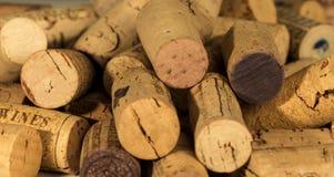 Το κρασί βουλώνει Στοκ Εικόνα