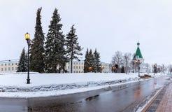Το Κρεμλίνο είναι ένα φρούριο στο κέντρο Nizhny Novgorod στοκ εικόνες