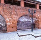 Το Κρεμλίνο είναι ένα φρούριο στοκ εικόνα με δικαίωμα ελεύθερης χρήσης