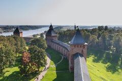 Το Κρεμλίνο ή το Detinets, το αρχαίο όνομά του, χτίστηκε από τον πρίγκηπα Yaroslavl, και είναι το παλαιότερο Κρεμλίνο στη Ρωσία Στοκ Εικόνες