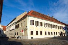Το κροατικό Κοινοβούλιο Στοκ εικόνα με δικαίωμα ελεύθερης χρήσης
