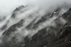 Το κρύο λικνίζει cloudly Στοκ εικόνες με δικαίωμα ελεύθερης χρήσης