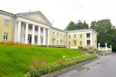 Το κτήριο είναι στο ύφος του Στάλιν Στοκ εικόνες με δικαίωμα ελεύθερης χρήσης