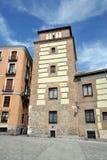Το κτήριο είναι Plaza de Λα Villa Στοκ φωτογραφία με δικαίωμα ελεύθερης χρήσης