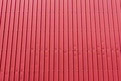 Το κτήριο εργοστασίων, το κτήριο εργοστασίων που γίνεται από το μέταλλο φύλλων Στοκ Εικόνες