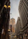 Το κτήριο πινάκων του Art Deco Σικάγο του εμπορίου Στοκ εικόνα με δικαίωμα ελεύθερης χρήσης