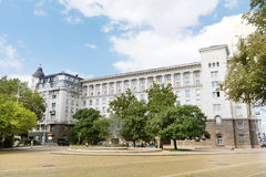 Το κτήριο προεδρίας στην κεντρική Sofia, Βουλγαρία στοκ φωτογραφία