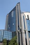 το κτήριο σχεδίασε την υ&psi Στοκ Φωτογραφία