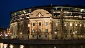 Το κτήριο του Κοινοβουλίου απόθεμα βίντεο