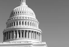Το κτήριο Capitol στο Washington DC, πρωτεύουσα των Ηνωμένων Πολιτειών της Αμερικής Στοκ Εικόνες