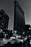 Το κτήριο Flatiron στο Μανχάταν Νέα Υόρκη Στοκ φωτογραφίες με δικαίωμα ελεύθερης χρήσης